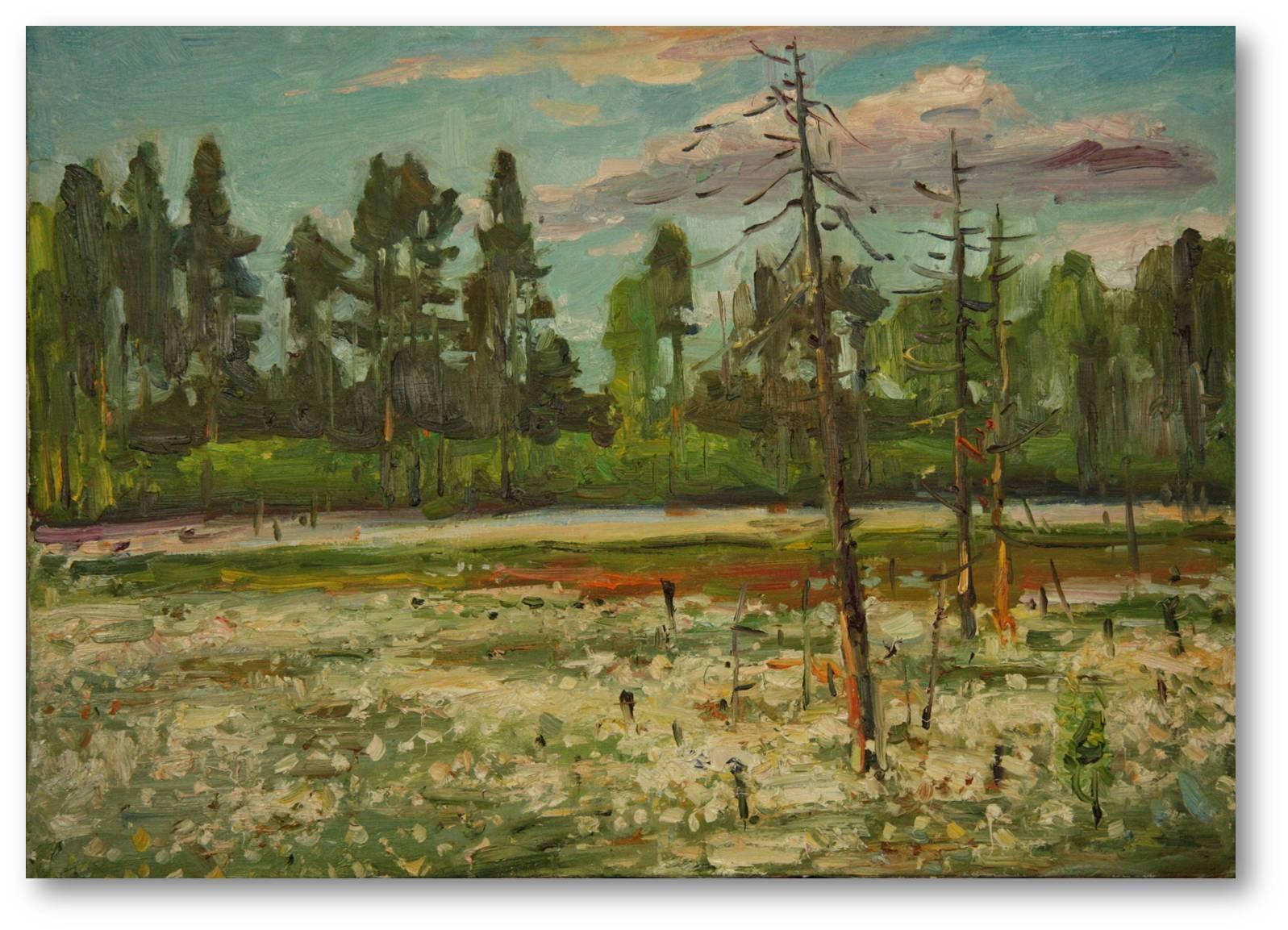 Russische kunst von talgat faragatowitsch samalejew